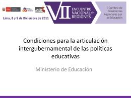 José Luis Gargurevich Valdez - Consejo Nacional de Educación