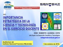 EDUCACIÓN INICIAL - Consejo Nacional de Ciencia y Tecnología