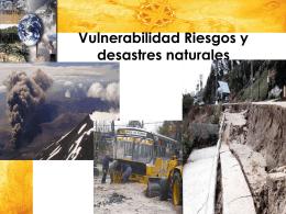 riesgos naturales - Impactos ambientales y riesgos ambientales