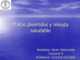 Platos divertidos y minuta saludable 179KB Oct 30 2014 03:19