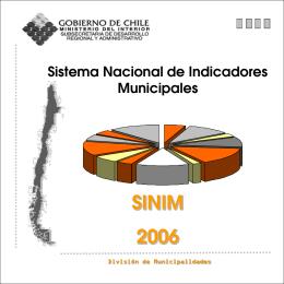 salud - Sistema Nacional de Información Municipal