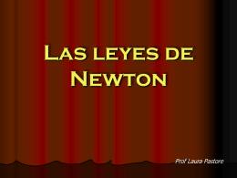 Las leyes de Newton - fisica en nuestra vida