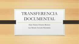 Transferencia Documental