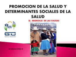PS y determinantes sociales Cx