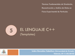 5 - C++ templates - Universidad de Oviedo
