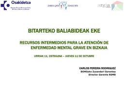 ponencia RED SALUD MENTAL BIZKAIA en
