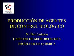 produccion y aplicación de agentes de control biológico