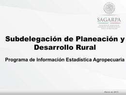 procampo - OEIDRUS Zacatecas
