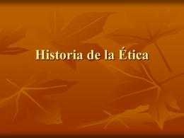 Historia de la Ética SÓCRATES