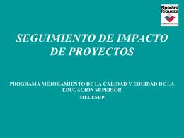 Seguimiento-Impacto-Proyecto-UTM0103