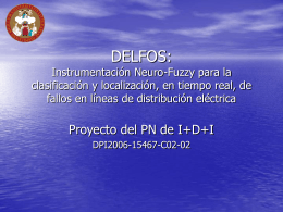 DELFOS: Instrumentación Neuro-Fuzzy para la clasificación y