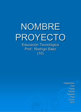 Título del Proyecto (4)