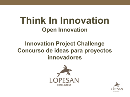 Think In Innovation Plantilla de proyecto