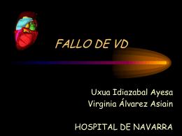 Fallo VD - Sociedad Vasco Navarra de Cardiología