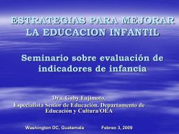 OEA -Gaby Fujimoto - OEI Oficinas en Guatemala