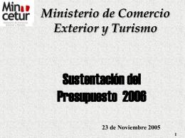mincetur - Congreso de la República del Perú