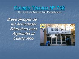 Detalles para los cuartos 2012 - colegio provincial tecnico nº 748