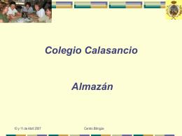 Colegio Calasancio Almazán - Colegio calasancio almazan