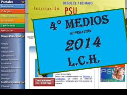 2- OFICIAL PSU 2014 C de Profesores - liceo camilo henriquez