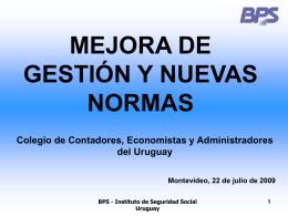 Exposición E. Murro, Colegio Contadores, 22-07-09