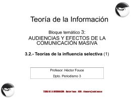 TEMA 3.- La evolución del concepto de audiencia