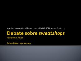 Sweatshops_debate_v03NOV con MaJ Galicia