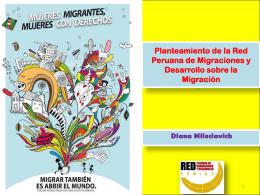 Planteamiento de la Red Peruana de Migraciones y Desarrollo