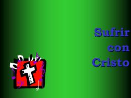 23.-Sufrir con Jesús
