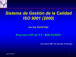 ISO 9001 Alta Gerencia