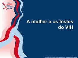 testes do VIH