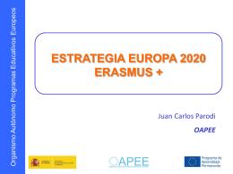 Estrategia Europa 2020 Erasmus +