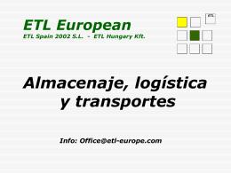 Presentación - ETL European