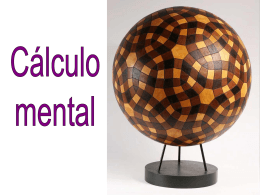 En el cálculo mental… - matematicas Ricardo Vazquez