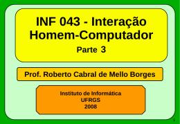 INF043 - Ergonomia de Hardware - Monitor
