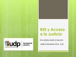 Responsabilidad Social Empresarial y Acceso a la Justicia