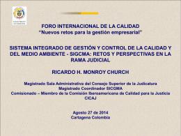 La Comisión Iberoamericana de Calidad para la Justicia