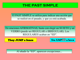 Past Simple 1
