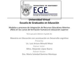 Minutti presentacion - Cátedra de investigación e innovación en