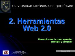 2. Herramientas Web 2.0
