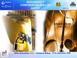 Bilbo Eskualdea (BiE) - Comarca Bilbao 23 de septiembre 2008