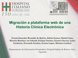 Historia Clínica Electrónica Ambulatoria