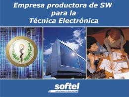 Presentación de PowerPoint - SOFTEL. Soluciones Informáticas