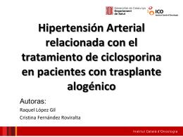 Presentació Institut Català d`Oncologia
