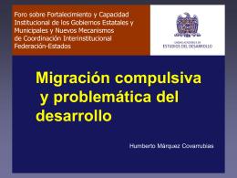 Mesa II, ponencia 6 - Foro Nacional sobre Federalismo y