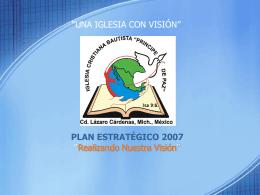 Plan de Trabajo 2007