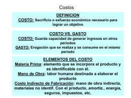 Costos Toma Decis