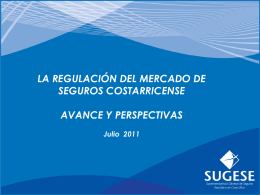 Regulación del Mercado de Seguros