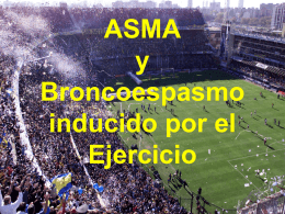 ASMA (2710528) - Medicina del Deporte UCA
