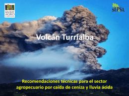 Emergencia Volcán Turrialba