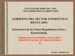 Emergencia Económica. Perspectivas del Sector